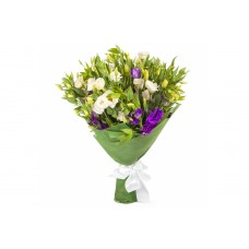 Buchet 11 eustoma