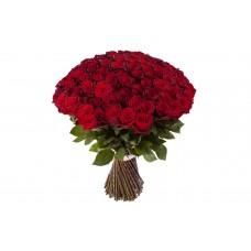 Buchet 101 trandafiri rosii